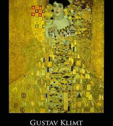 Gustav Klimt N01, 420 x 560 mm =12,40€